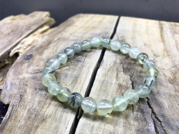 Bracelet perle néphrite 8mm